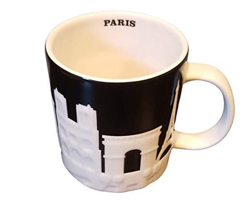 Starbucks Paris Relief Mug 2011 France, 16 Oz by Starbcks