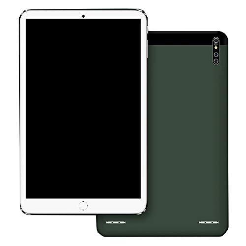 Tableta de 10.1 Pulgadas Android 8.0 8G + 128G Procesador de 10 núcleos AI Aceleración Inteligente Dual 4G Llamada en línea 2560 * 1600 FHD Pantalla táctil Bluetooth 5.0 Dual WiFi GPS