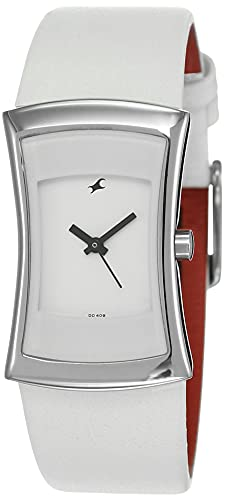 Fastrack Fits and Forms Analog White Dial Women's Watch NM6093SL01 / NL6093SL01
