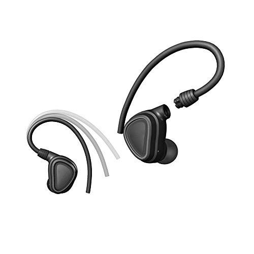 Wireless Bluetooth Headset Outdoor Sports Schweißband Licht Noise Reduction Kopfhörer IPX4 Sweat-und wasserdicht Mini Wireless Bluetooth Stereo Headset V4.1 Headset (Farbe: Schwarz, Größe: Free) ZDWN