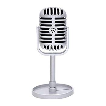 vintage microphone props
