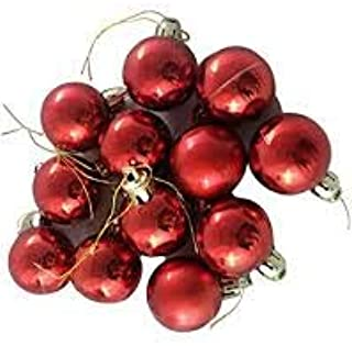 APSAMBR-Christmas Red Ball Ornaments Tree Decorations for Holiday Party Decoration, Christmas Decorations for Home/House P...