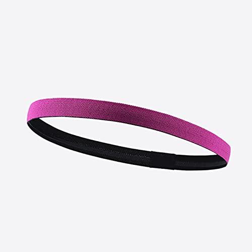 VERDELZ Fascia per Capelli Sport Fitness Jogging Guida per Il Basket Assorbimento del Sudore Deodorante Antiscivolo Turbante Yoga Fascia per Capelli Femminile