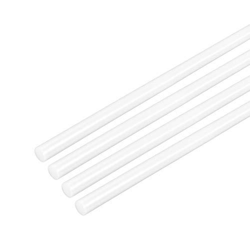 "Plastic-Black Delrin//Acetal Rod 1/"" diameter bushings// bearings 6 inches long"