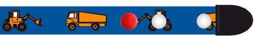 Clip.Ho Clip-Ho-Gürtel, tragbar von Größe 92 bis 116,Motiv Bagger Kindergürtel ohne Schnalle