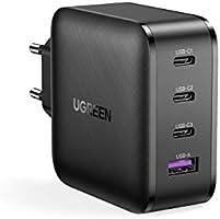 Ugreen ładowarka USB C 65W Power Delivery z zasilaczem USB C 4 portami Charger kompatybilna z MacBook Pro, MacBook Air...