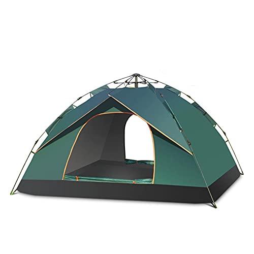 Tienda de Camping 1-2 Persona Tienda Familiar Doble Capa Configuración instantánea Toldo al Aire Libre Protable mochilero Tienda de Caminata Viajes (Color : 2 Person)