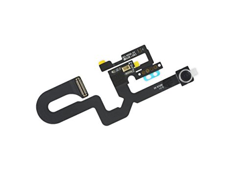 Mobofix Sostituzione Fotocamera Frontale per iPhone 7 Plus, Fotocamera Telecamera Frontale con Cavo Flessibile Sensore di Prossimità