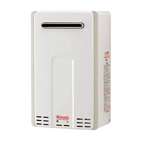 6.5 GPM V Series HE Tankless Hot Water Heater - Outdoor Installation by Rinnai