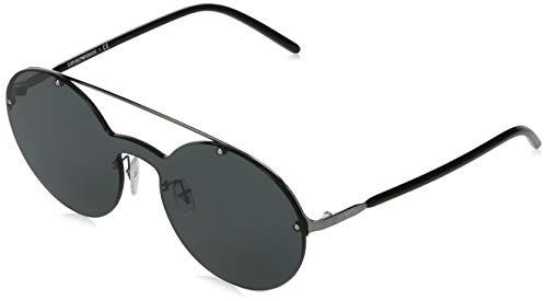 Emporio Armani 0EA2088 Gafas, Ruthenium/Grey, 34/13/145 Unisex Adulto