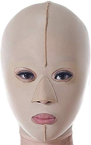 Artefact lifting facial en forme de V Ceinture-levage visage, respirant et confortable for prévenir le visage tombantes et levage Retirer Étroitement Masséter double menton sommeil mince visage Bandag