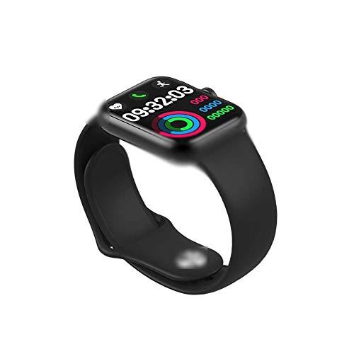 ZBHWYD Y13 Pulsera Inteligente, Reloj Deportivo, Frecuencia Cardíaca, Control de Presión Arterial y Oxígeno en la sangre, Llamada Bluetooth, Pulsera Funcional, Negro 28 * 2 * 0,25 cm