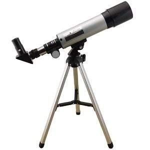 Vichaxan 90X Zoom Astronomical Land & Sky Refractor Telescope Optical Glass Metal Tube Tripod Tabletop Nature Exploration Gifts Toys for Kids