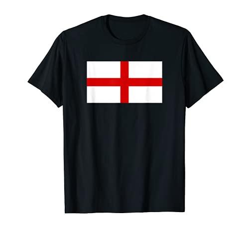 Drapeau Angleterre Croix de Saint George St Georges T-Shirt