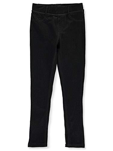 DKNY Girls' Leggings, Kirby Black, L