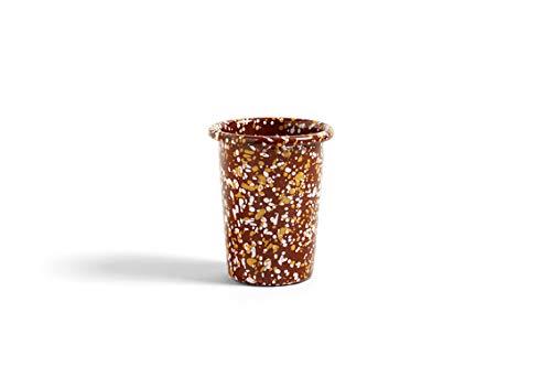 HAY - Enamel Becher - braun - Design - Tasse