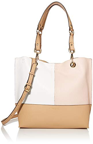 Calvin Klein Sonoma Reversible Novelty North/South Tote, BLUSH COMBO