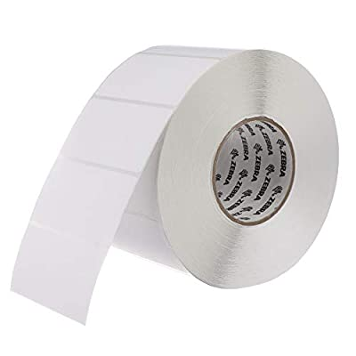 Zebra - 4 x 2 in Thermal Transfer Paper labels, Z-Perform 2000T Permanent Adhesive Shipping labels, Zebra Industrial Printer Compatible, 3 in Core - 4 rolls - 10031656SP