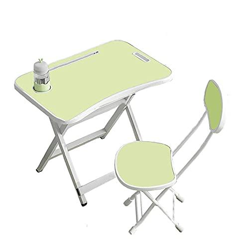 Mesas y sillas plegables, sillas de mesa plegables para niños, mesa de estudio para niños, muebles, escritorios y sillas portátiles, adecuados para la habitación en casa, comer, leer, aprender