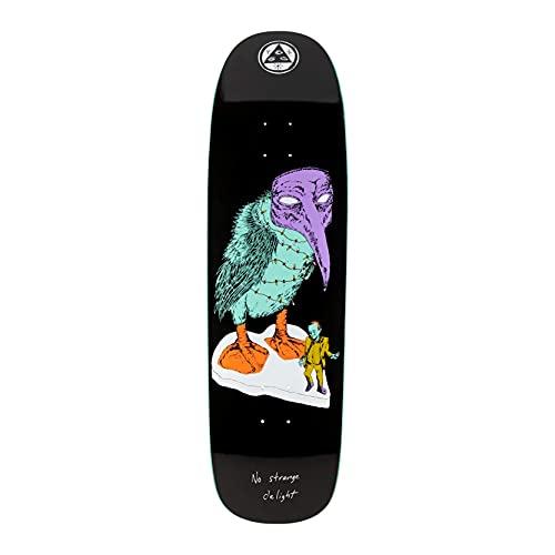 Welcome Tavola da skateboard No Strange Delight on Golem 9.25' (nero)