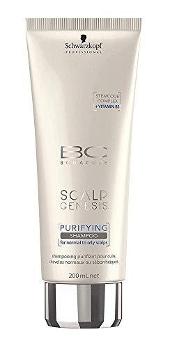 Schwarzkopf Professional BC Scalp Genesis Purifying Shampoo, 1er Pack (1 x 200 ml)