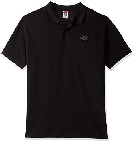 The North Face Herren POLO PIQUET Poloshirt, Tnf Black, L