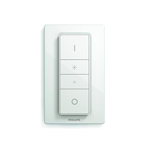 Philips Hue LED Deckenleuchte Being inkl. Dimmschalter, alle Weißschattierungen, steuerbar auch via App, schwarz, 3261030P7 - 3