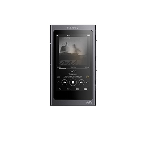 Sony NW-A45/B Walkman with Hi-Res Audio, Grayish Black