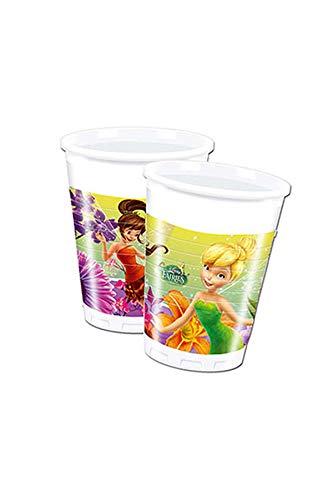 Procos- Vaso de plástico 200 ml, Trilli Fairies, multicolor, 5PR85244
