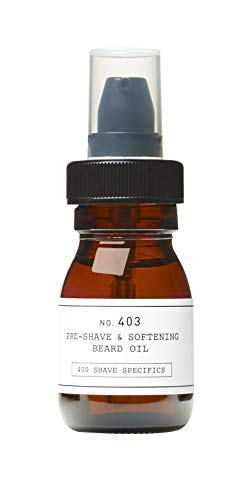DEPOT NO. 403 PRE-SHAVE & SOFTENING BEARD OIL OLIO PRE BARBA 30 ML FRESH BLACK PEPPER