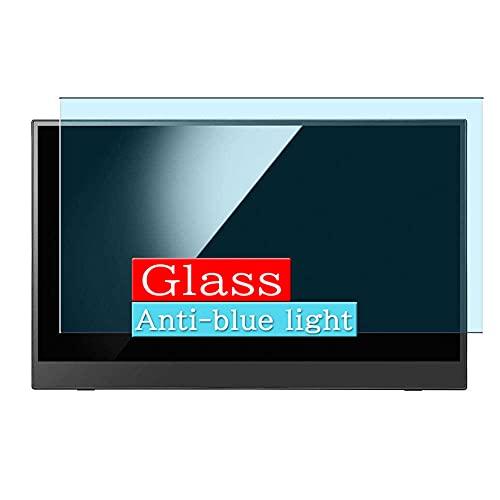 VacFun Filtro Luz Azul Vidrio Templado Protector de Pantalla, compatible con IO...