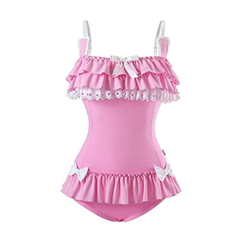 LittleForBig Baumwoll Fancy Bunny Strampler Onesie Pyjama Teddy Dessous Einteiliger Babydoll Bodysuit S
