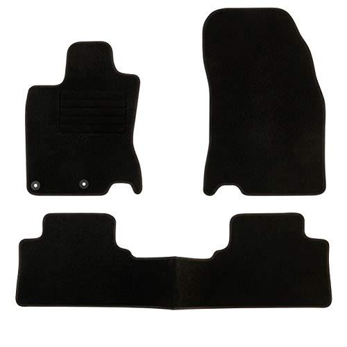 DBS Tapis de Voiture - sur Mesure pour QASHQAÏ (2013-2020) - 3 pièces - Tapis de Sol antidérapant pour Automobile - Moquette Classic