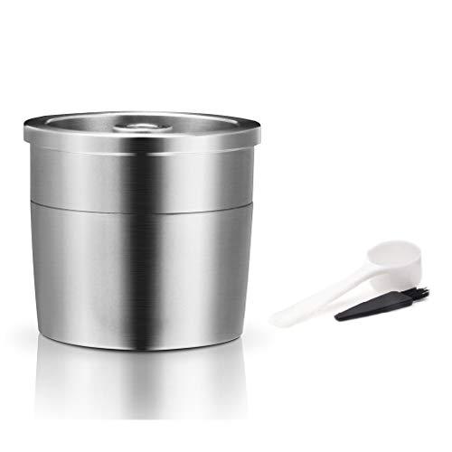 JOYKK Koffie Capsule Cup Herbruikbare Roestvrij Koffie Filter Voor Illy Koffiemachine - Zilver