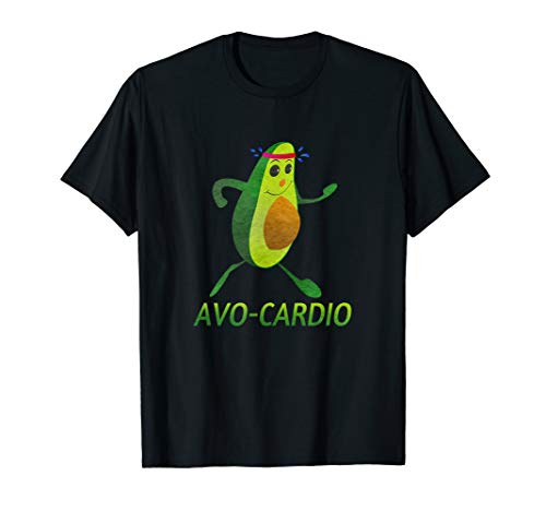 Avo-Cardio Design Lustiges Avocado Workout avocardio T-Shirt
