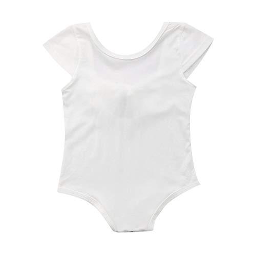 Body de Bowknot para bebé niña, Bodys Manga Corta Verano Ropa Bautizo Bebes niñas niños Bodies Camiseta Camisa Tops
