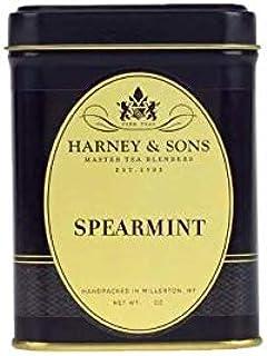 Harney Tea SPEARMINT Herbal Tea 2 0z Loose Tea Tin