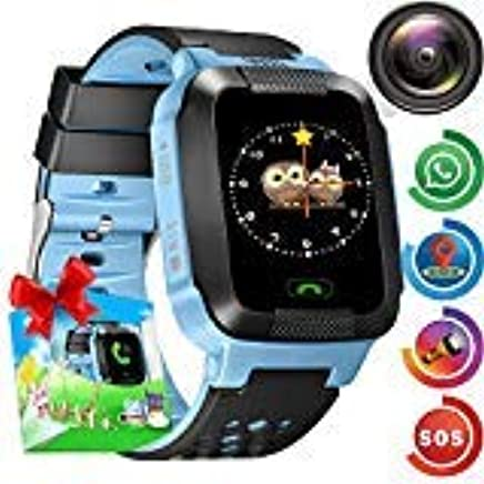 Amazon.com: GPS Tracker Watch for Kids - Smart Wrist Watch ...