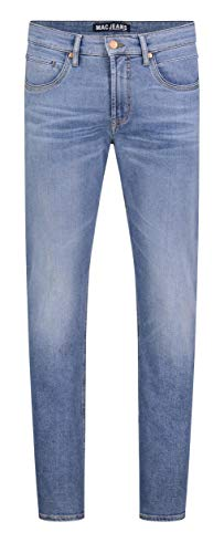 MAC Jeans Herren Arne Pipe Straight Jeans, Blau (Summer Used H226), 30W / 30L