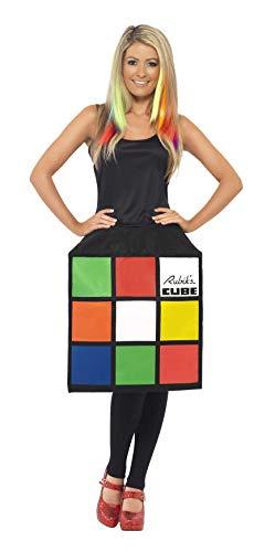Rubik's 3D Cube Costume for Female, 3 Sizes