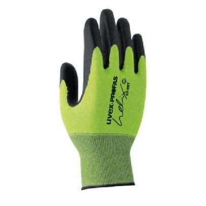 Uvex Ruvex-C500Foam_7 Schutzhandschuhe, Grün-Schwarz, 7 Größe