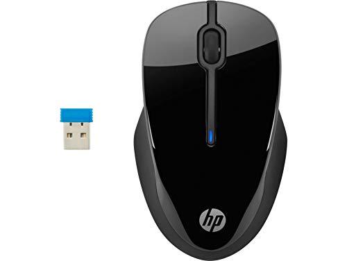Mouse Sem fio HP 250 Preto - Sensor Óptico Ambidestro Receptor Nano 2,4Ghz Resoluções até 1600 DPI - 3FV67AA