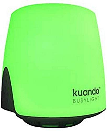 Kuando Busylight UC Omega (15410) - Presence Light and Ringer - Microsoft Teams, Skype4B, Jabber, Webex Teams, RingCentral, Zoom, Avaya, 3CX and more