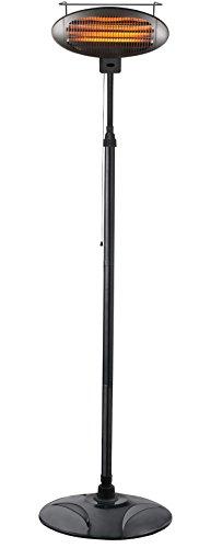 Hiland HIL-1500DI Electric Patio Heater, 1500 Watts...