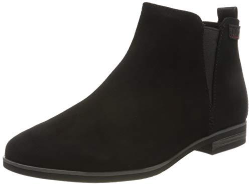s.Oliver Damen 5-5-25300-24 Chelsea Boots, Schwarz (Black Comb 098), 37 EU