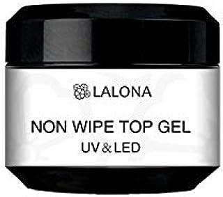 LALONA [ ラローナ ] ノンワイプトップジェル (30g) ジェルネイル セミハード トップコート 拭き取り不要 ノーワイプ ソークオフ レジン