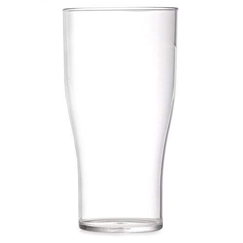We Can Source It Ltd - Elite Polycarbonate Tulip Pint Glasses 20oz/568ml...