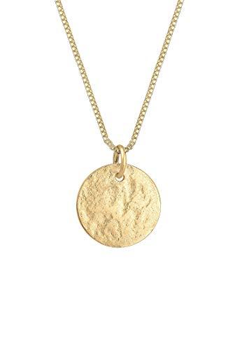 Elli Halskette Damen Motiv-Anhänger mit Pusteblume in 925 Sterling Silber