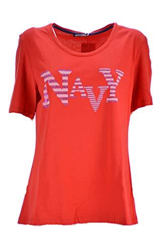 LUISA VIOLA T-Shirt Donna Rosso Taglie Comode (Elena Miro) G136f08823 39