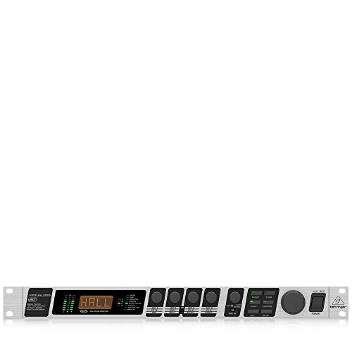Behringer Virtualizer 3D FX2000 High-Performance 3D Multi-Engine Effects Processor,Silver & Black